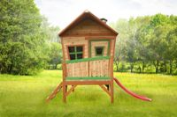 Wooden Playhouse Iris (with slide) - Axi (A030.106.00)