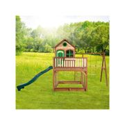 Wooden Playhouse Liam with some swing - AXI