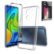 Xiaomi Redmi Note 9 Phone Case Cover Backcover Crystal Clear Silicone