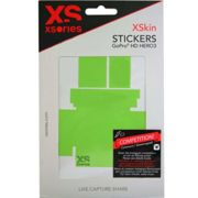 XSORIES Xskins Stickers Grn - Action sport camera accessory - Green - size UNIQUE