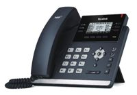 Yealink SIP-T42S IP phone Black Wired handset LCD 12 lines