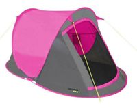 Yellowstone 2 Man Fast Pitch Pop Up Tent - Pink