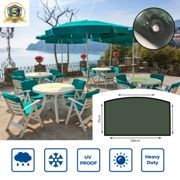 Yuzet Heavy Duty 4-6 Seater Round Table Furniture Cover Patio Set Waterproof