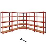 Z-Rax 90cm Corner Racking Bundle: Corner Shelving & 4 Garage Racking Bays