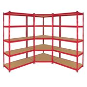 Z-Rax 90cm Racking Bundle: Corner Shelving and 2 Garage Racking Bays