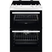 Zanussi ZCI66050WA 60cm Electric Cooker with Induction Hob - White - A/A Rated