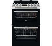 ZANUSSI ZCV69068XE 60 cm Electric Ceramic Cooker - Stainless Steel, Stainless Steel