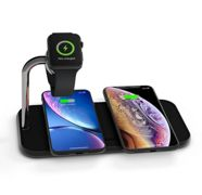 Zens Aluminium Dual Wireless Qi Charger with Apple Watch Series 10W charger - BLACK - ZEDC05B00
