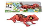 Zuru Robo Alive Lizard Toy: Red/One